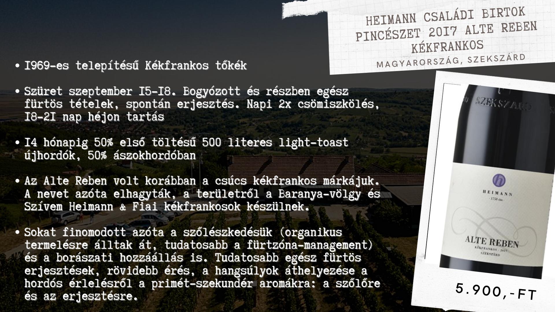 VI. Borklub A Kékfrankos hegyen túl (2)